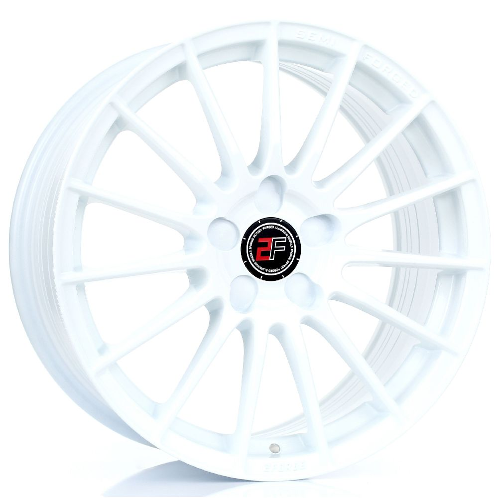 2FORGE ZF1 hliníkové disky 8x17 5x120,65 ET10 DO 58 WHITE