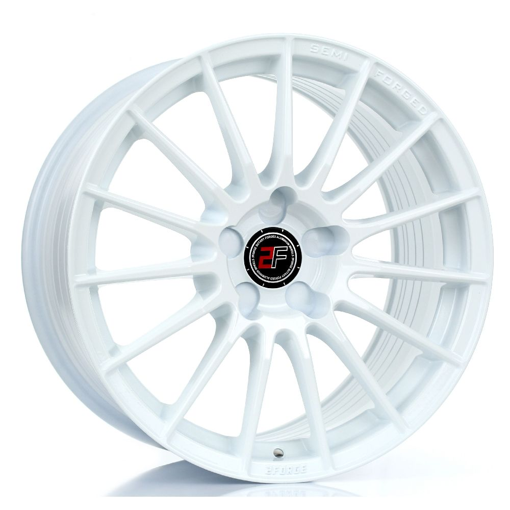2FORGE ZF1 hliníkové disky 9x17 5x120,65 ET10 DO 50 WHITE